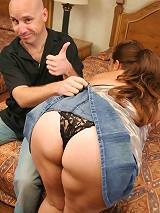 Latina plumper having her huge tits sprayed with jizz